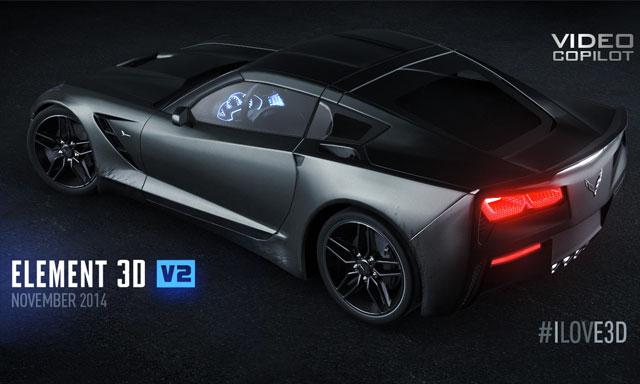 Hot News! Andrew Kramer Drops some Info about Element 3D v2
