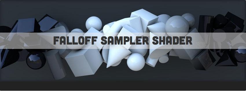 Freebie: Falloff Sampler Shader for MAXON Cinema 4D - Toolfarm.com ...