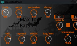 Freebie: HauntedVerb for Ableton Live!