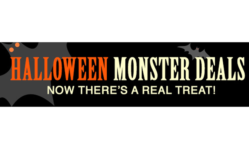Sale: Waves Halloween Monster Deals