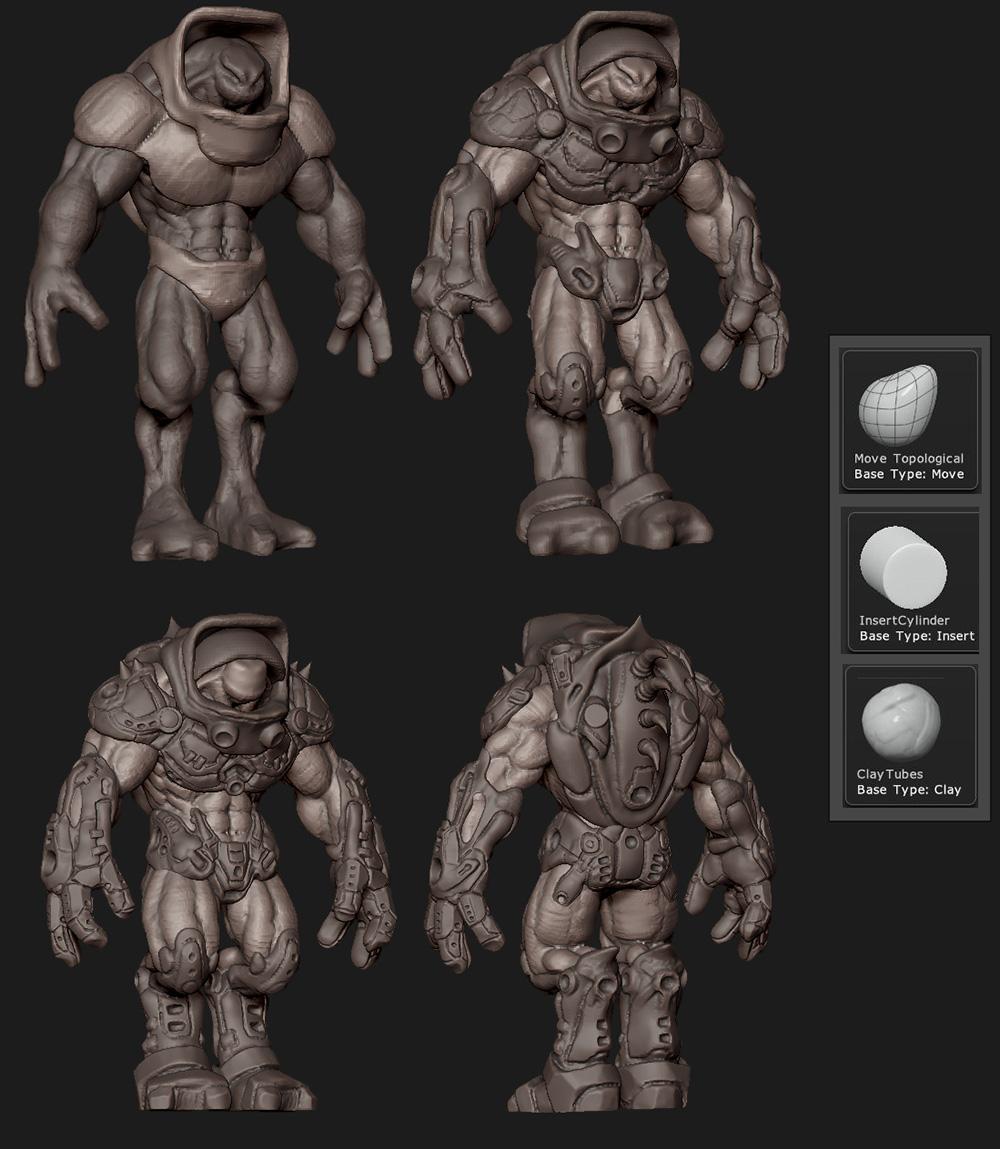 zbrush alien 2