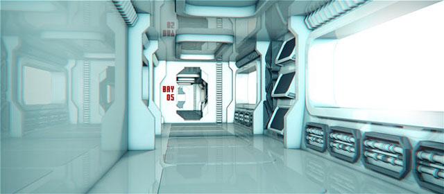 Freeie: Sci-Fi Room for Cinema 4D - Toolfarm