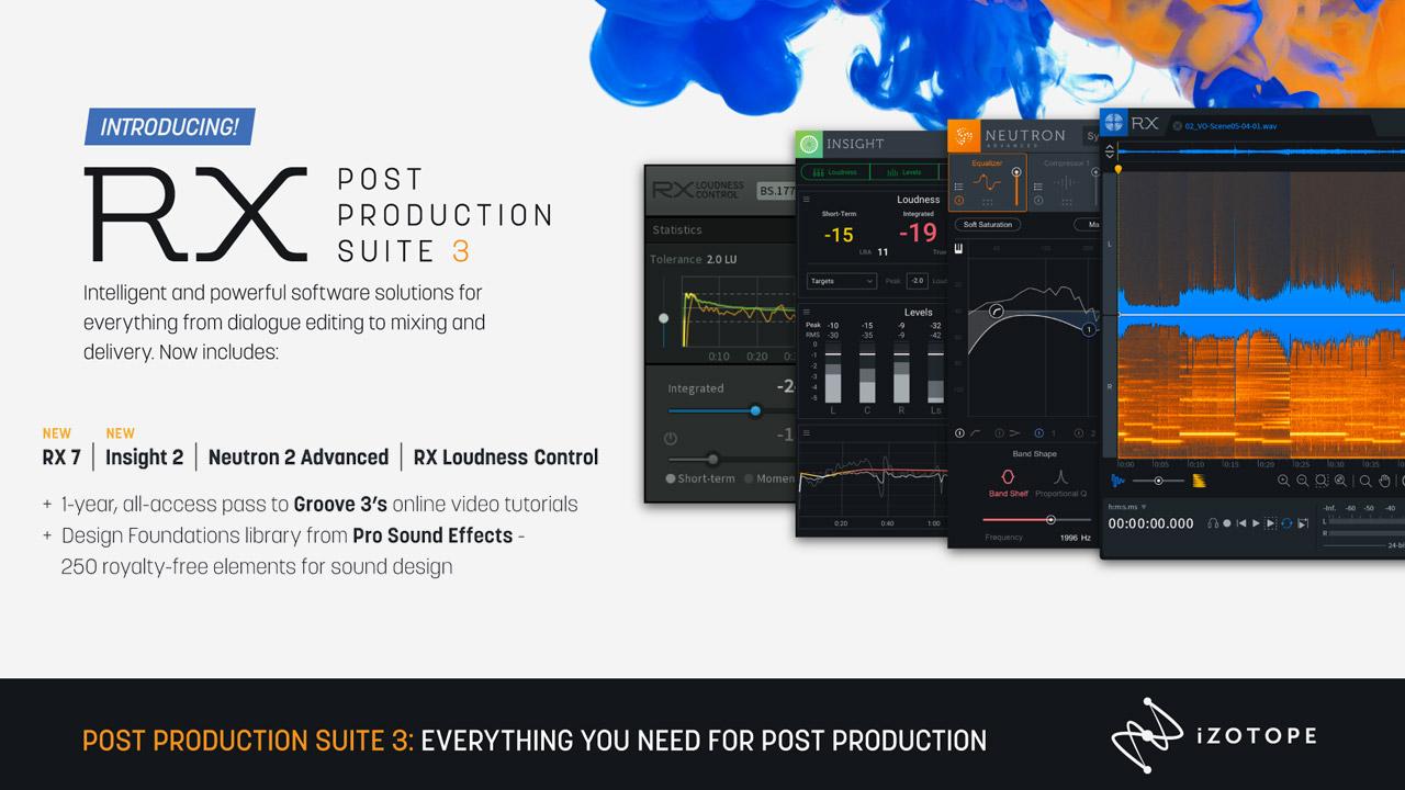 rx post prod suite