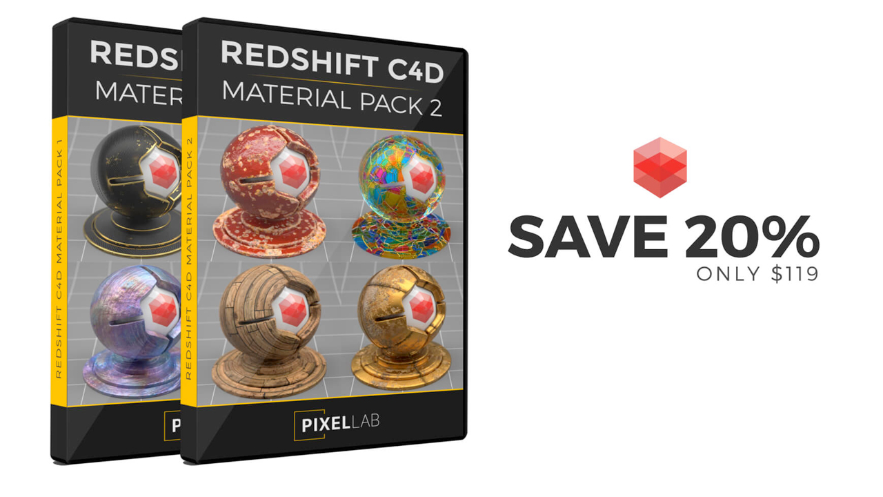 the pixel lab redshift material bundle