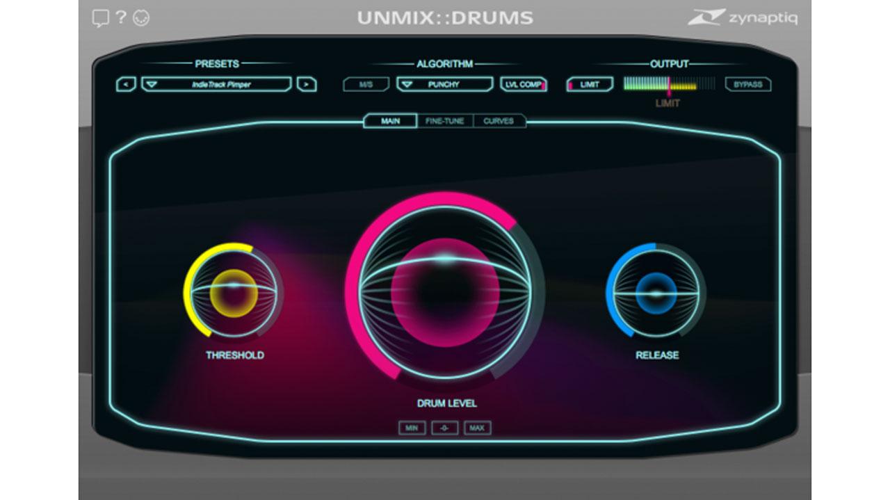 unmix drums