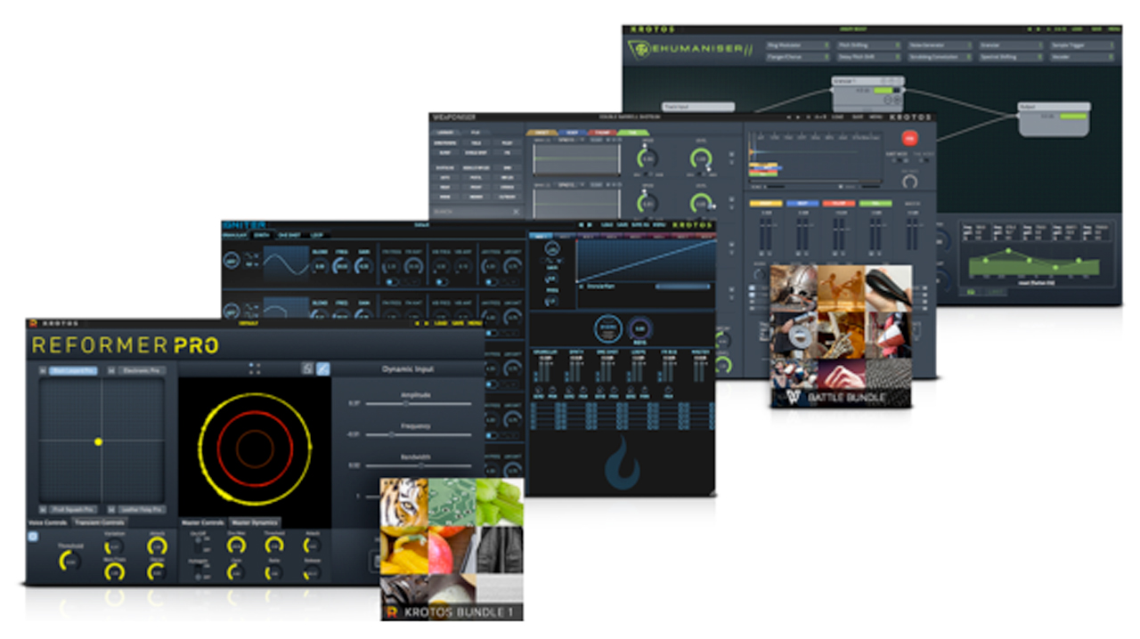 krotos audio sound design bundle 2