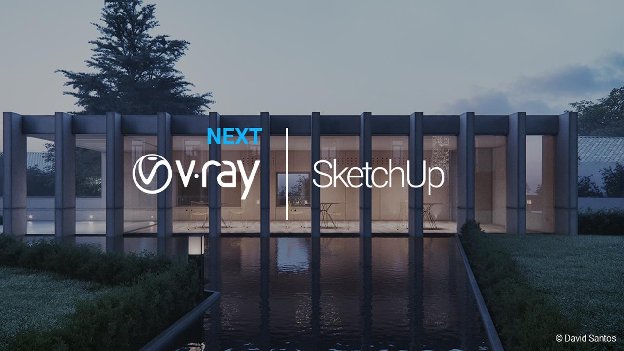 chaos group v-ray next for sketchup