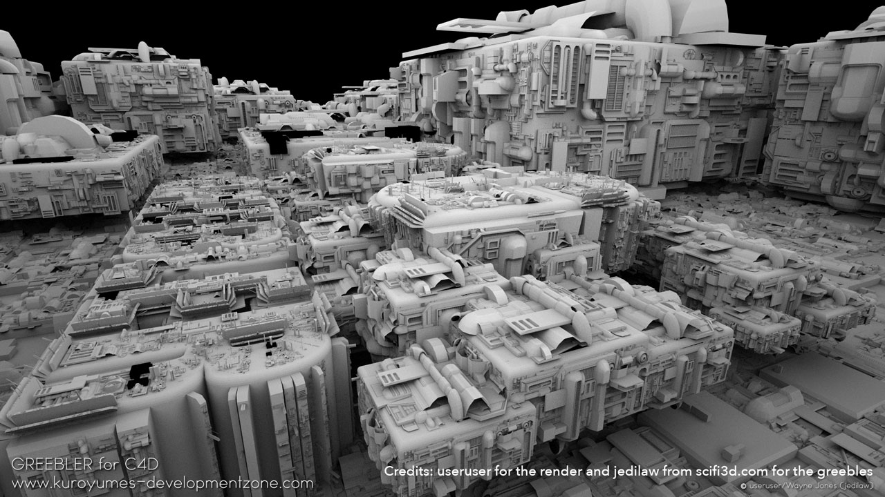 Burning Question: Greeble    What is it and how to make your own