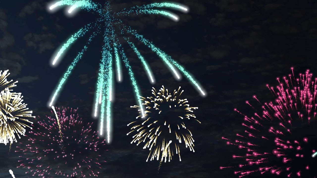 helloluxx learn xparticles 3 fireworks