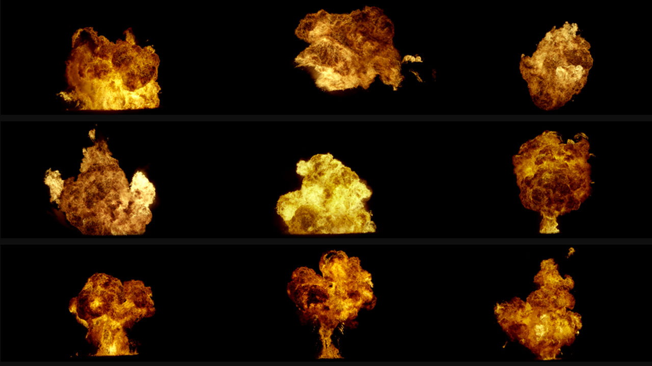 VFX Central Ultimate Explosions Pack - Toolfarm
