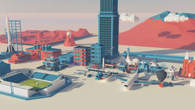 Pixel Lab Low Poly Scenery Pack for Cinema 4D - Toolfarm