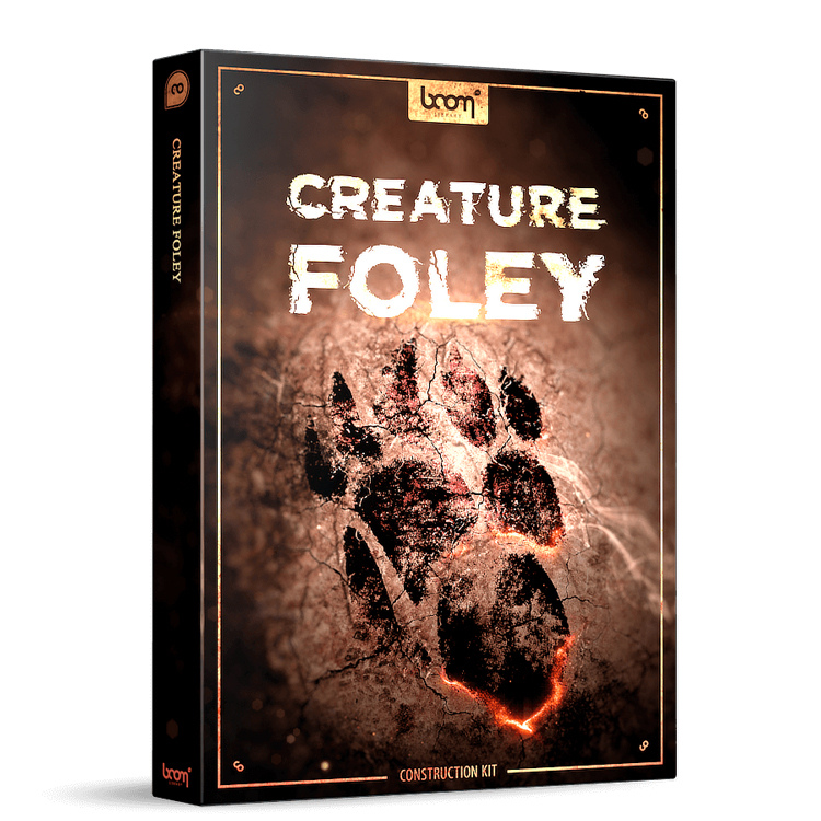boom library creature foley ck