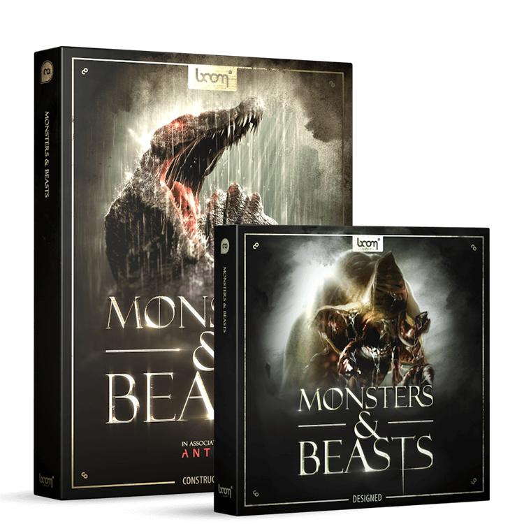 boom library monsters & beasts bundle