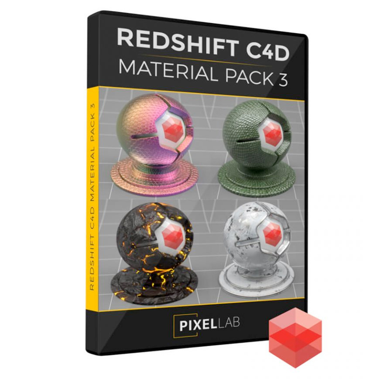 redshift material pack 3
