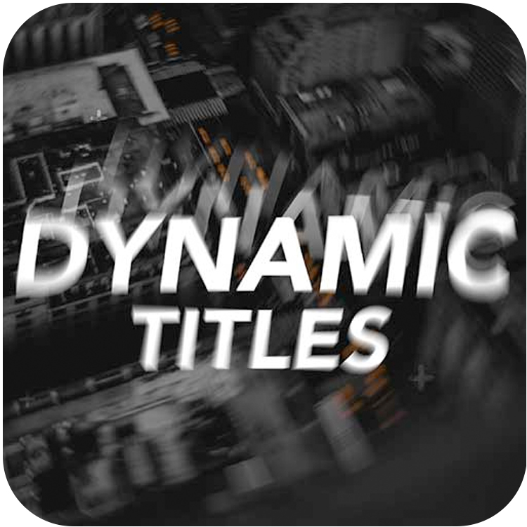 premiumvfx dynamic titles