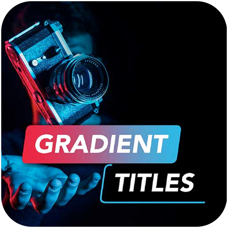 premiumvfx gradient titles