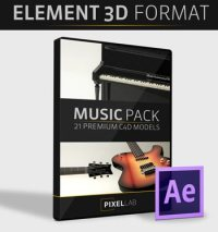 Music Pack for Element 3D