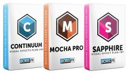 Boris FX: Sapphire, Continuum, and Mocha Pro Bundle