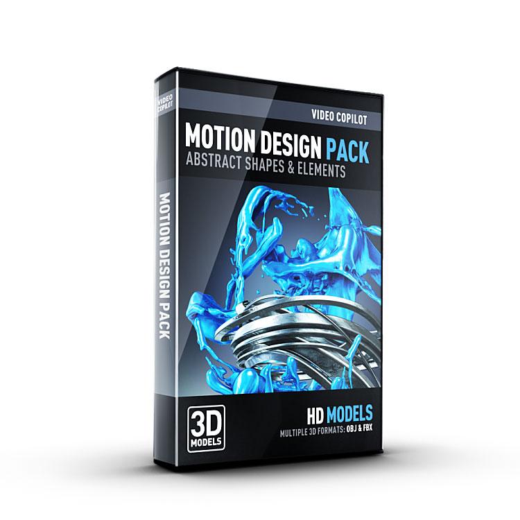 video copilot motion design pack
