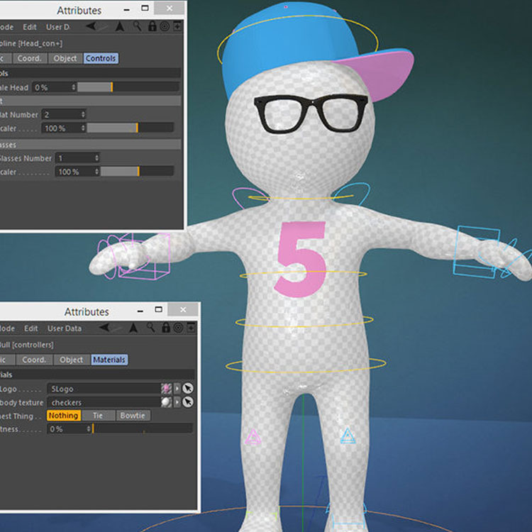 3 Character Animation and Rigging Tutorials for Cinema 4D + ...