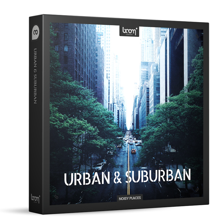Urban and suburban - ambience toolkit Boom Library
