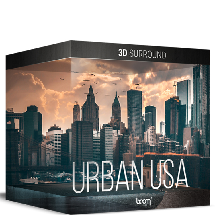 BOOM Library Urban USA – 3D Surround