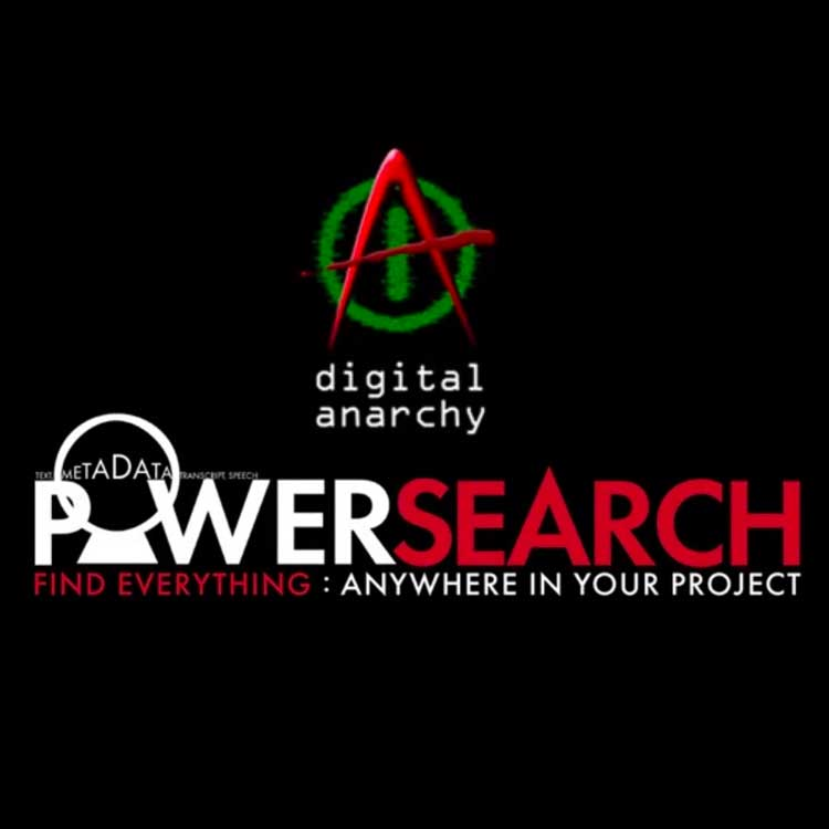 Digital Anarchy PowerSearch