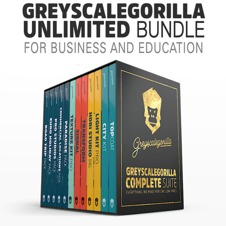 Greyscalegorilla Unlimited Bundle for Business & Education (Annual License)