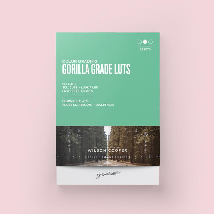 Greyscalegorilla Gorilla Grade LUTs
