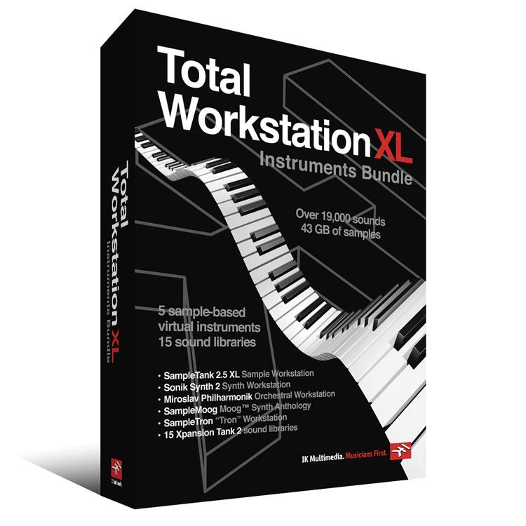 IK Multimedia Total Workstation XL Instruments Bundle