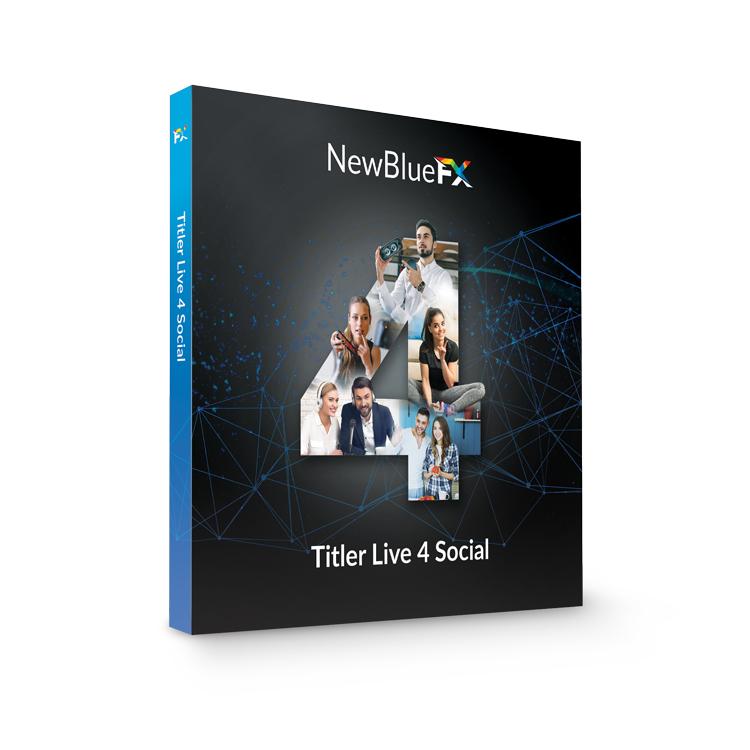 NewBlueFX Titler Live Social