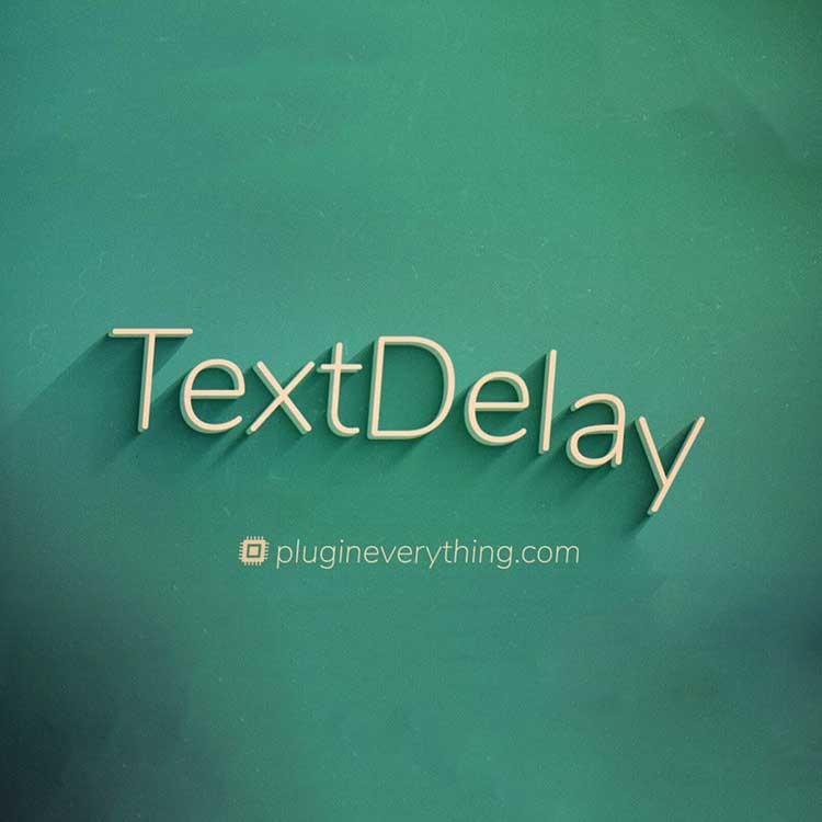 Plugin Everything TextDelay