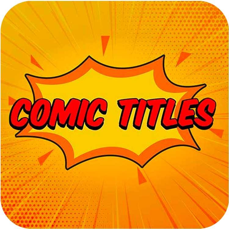 PremiumVFX Comic Titles for FCPX