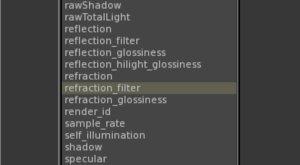chaos group v-ry for katana render elements