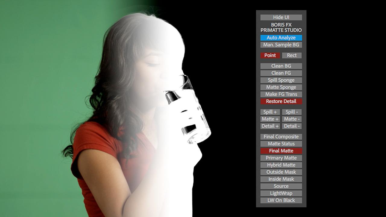 boris continuum primatte studio toolbar