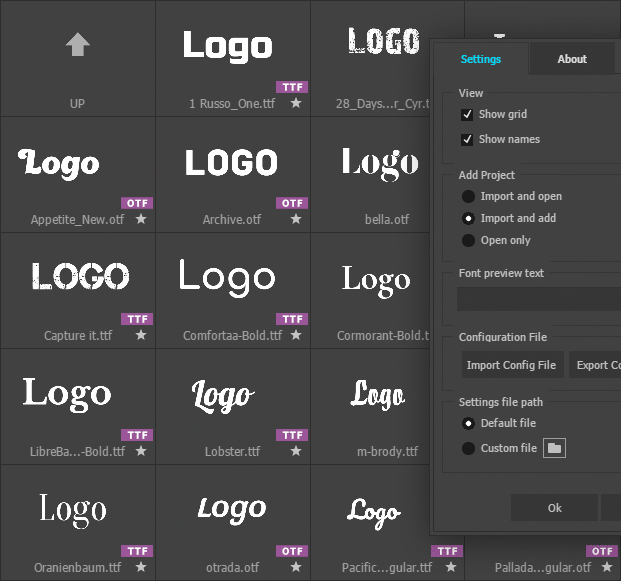 alex white aeviewer preview fonts