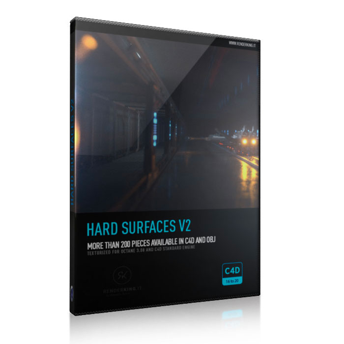renderking hard surfaces
