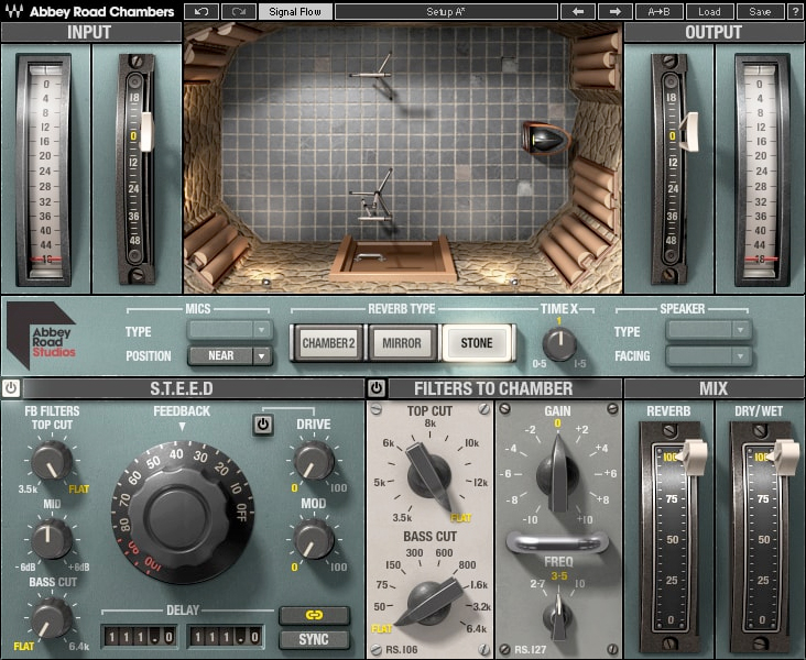 waves Abbey Road Chambers ui