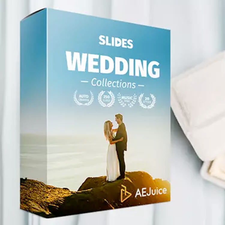 aejuice slides wedding collection