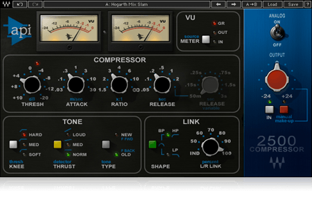 Waves API 2500 Stereo Compressor