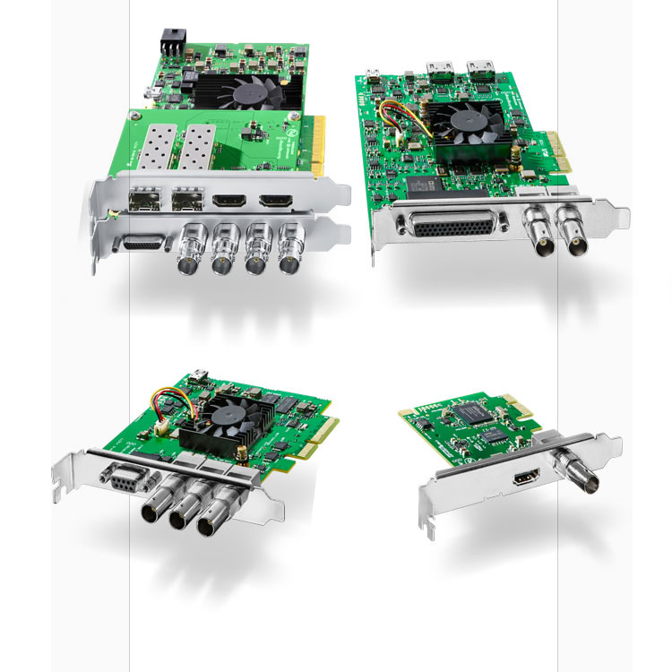 Blackmagic Design DeckLink Capture Cards - Toolfarm