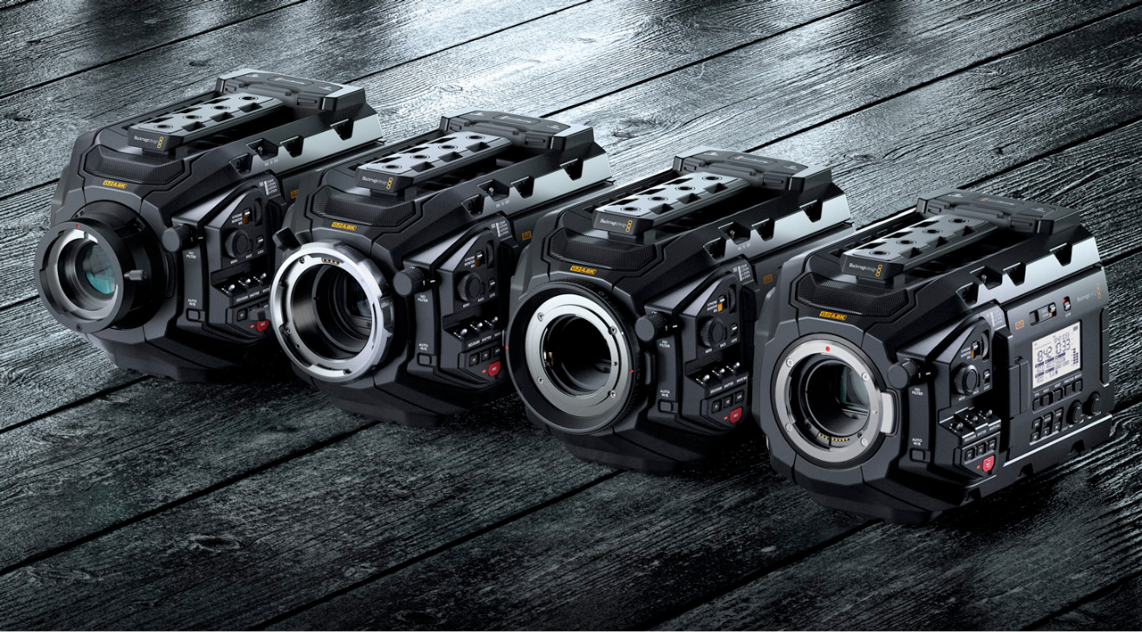 blackmagic design ursa mini mounts