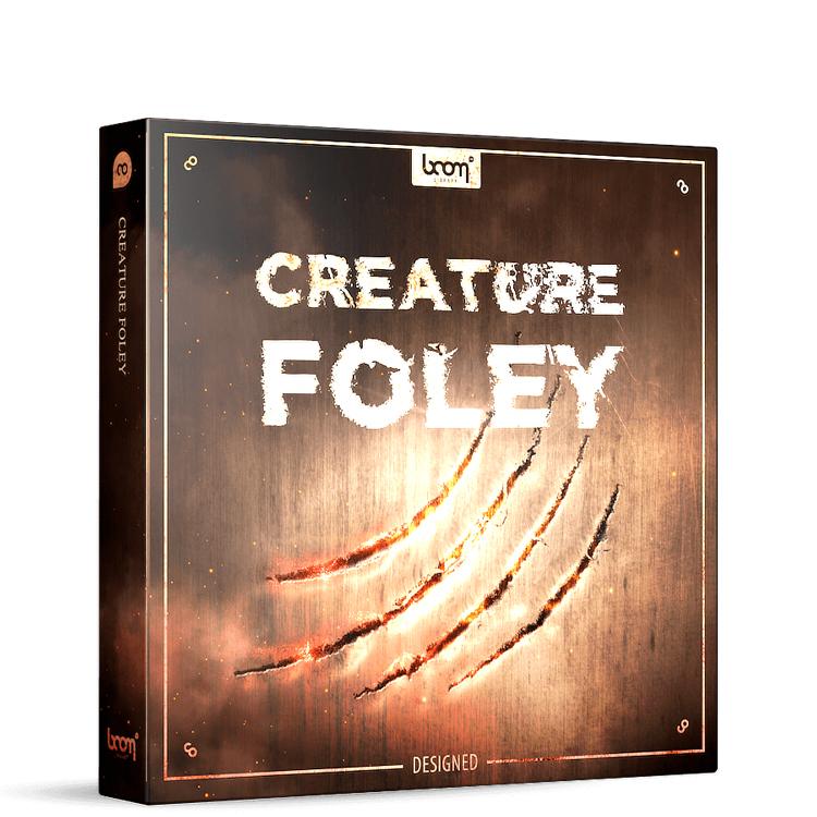 boom library creature foley designed