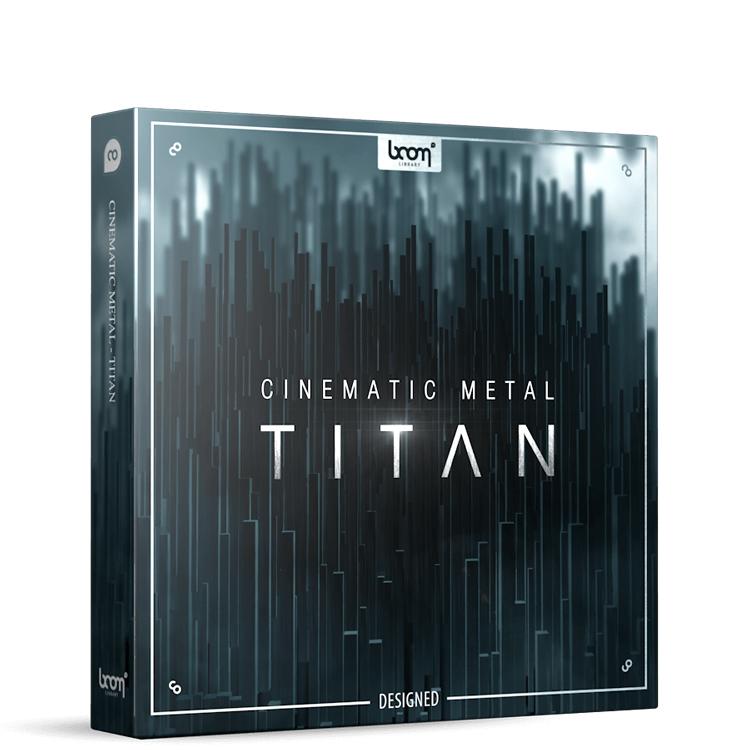 cinematic metal titan designed
