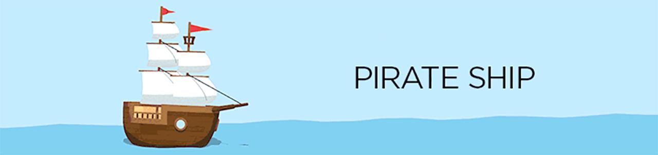 eyedesyn sketch & toon 4 pirate ship