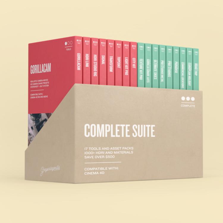 Greyscalegorilla Complete Suite