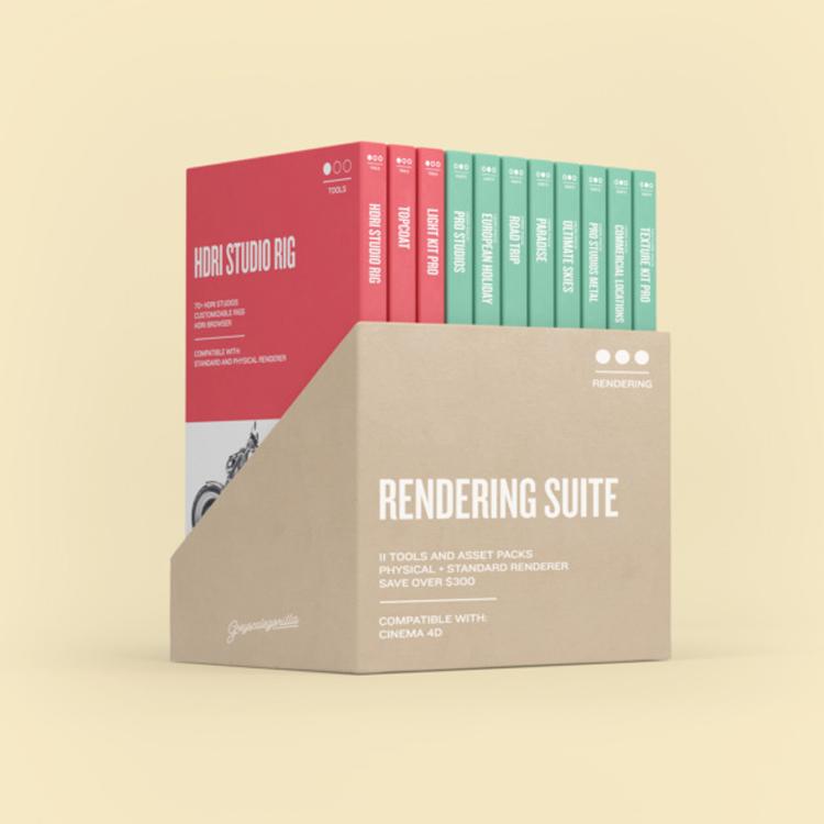 c4d rendering suite