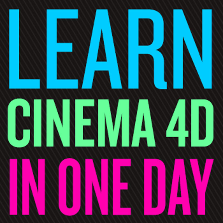 helloluxx learn. Cinema 4D in One Day
