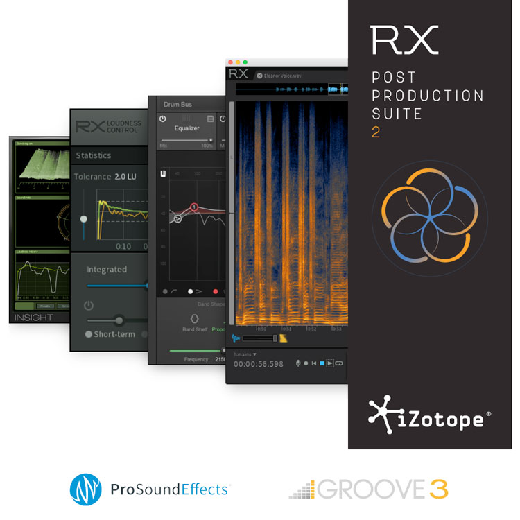 izotope post production suite