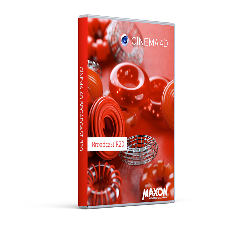 Maxon Cinema 4D R20 Broadcast